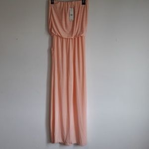 Exist peach pink wide leg jumper S